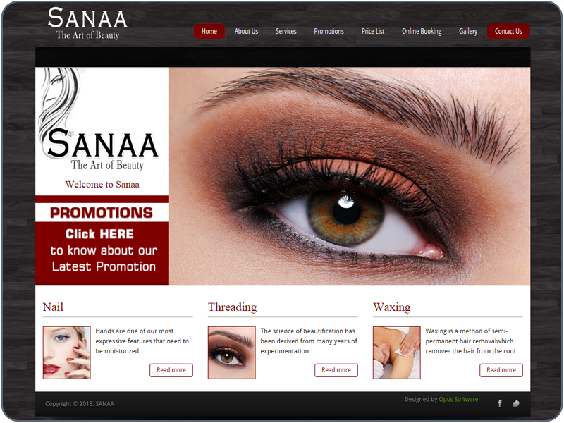 Sanaa - The Art Of Beauty