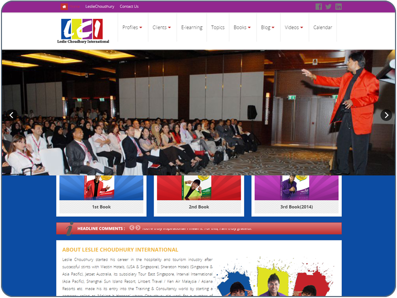 LESLIE CHOUDHURY INTERNATIONAL Pte Ltd
