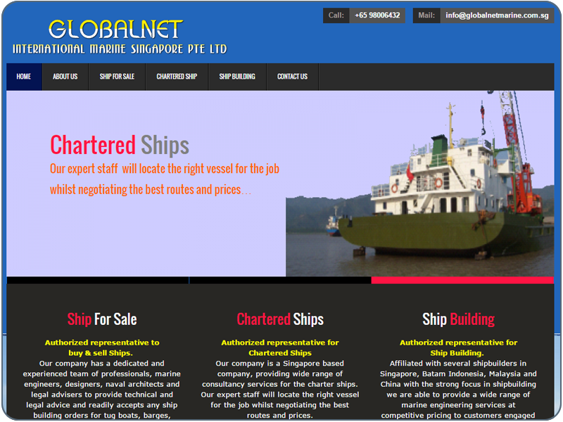 Globalnet International Marine Singapore Private Ltd