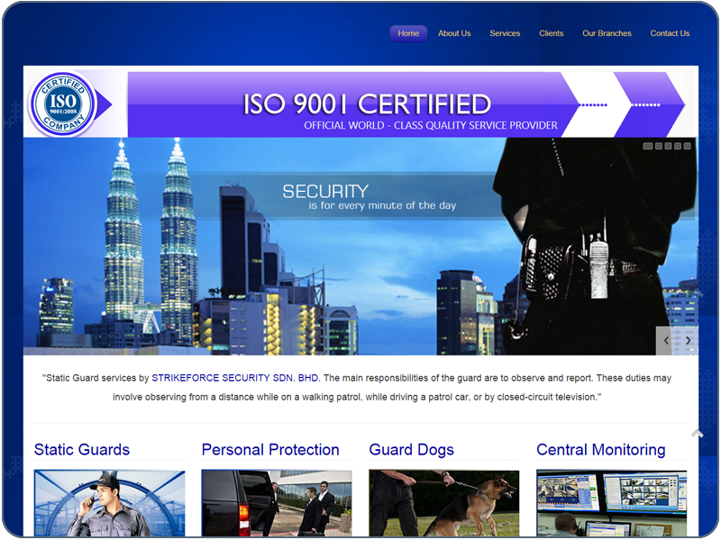 STRIKEFORCE SECURITY SDN. BHD